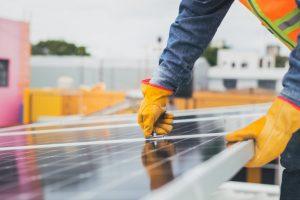 solar street lighting project