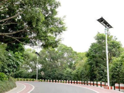 solar led street light application