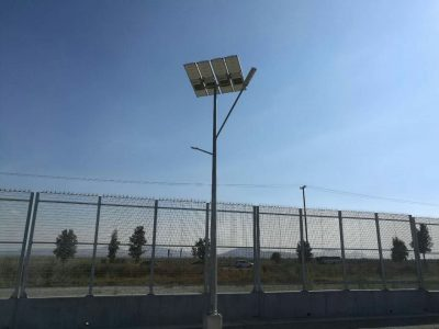 Solar street light project -road