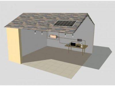 Solar home system application